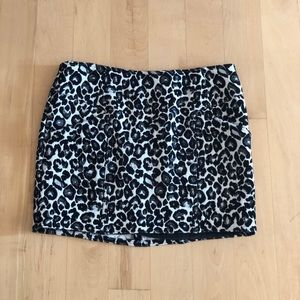 Forever 21 Leopard Mini Skirt